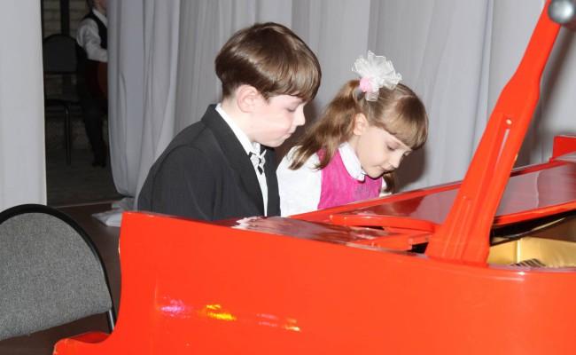 Отчетный концерт школы. 2011 год