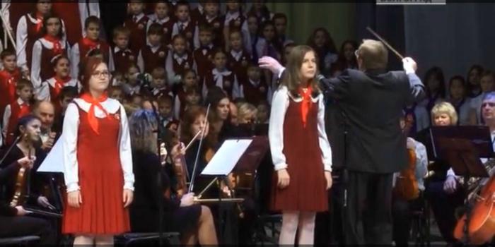 Волжский детский хор на телеканале Культура
