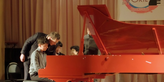 Мастер-класс в рамках Международного конкурса пианистов «От пиано до форте»-2016г.