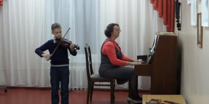 Концерт класса скрипки  Глинской Е.А.