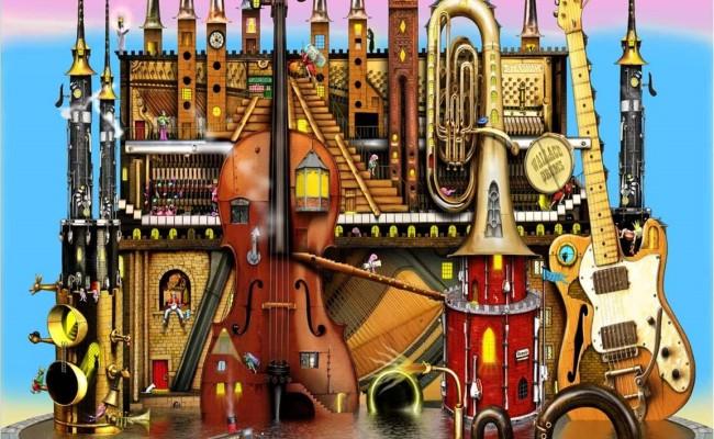 В королевстве музыкальных инструментов
