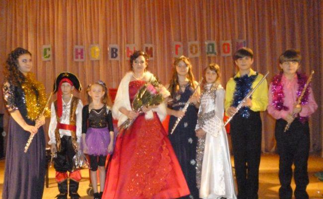 Новогодний концерт класса Плехановой О.Я. 2016