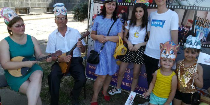 Праздничное мероприятие на День защиты детей. Сказка-импровизация «Колобок»