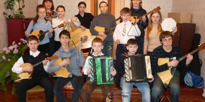 Репетиция народного оркестра. 2011 год