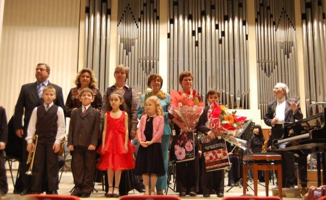 Областной конкурс «Цветы музыки» 2010