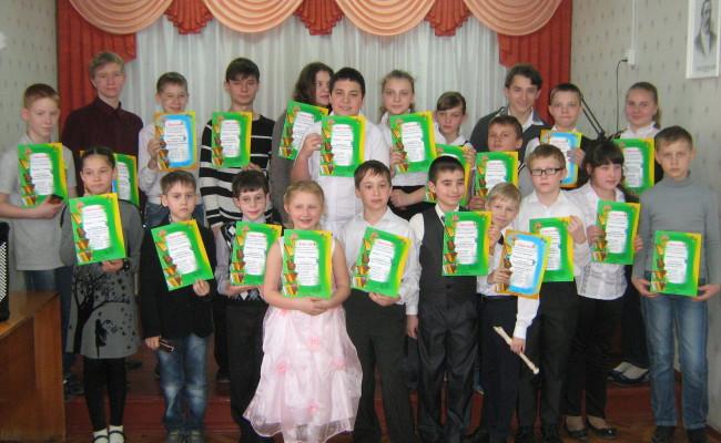 Школьный конкурс «Соло и ансамбль» 2014г.