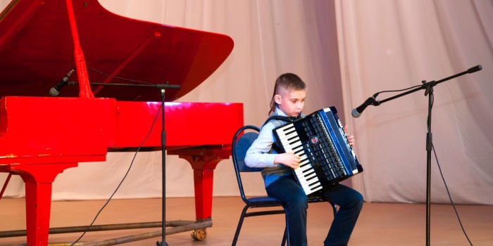 Отчетный концерт Детской музыкальной школы  2016 г.