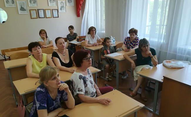 Мастер-классы на городской методической секции.